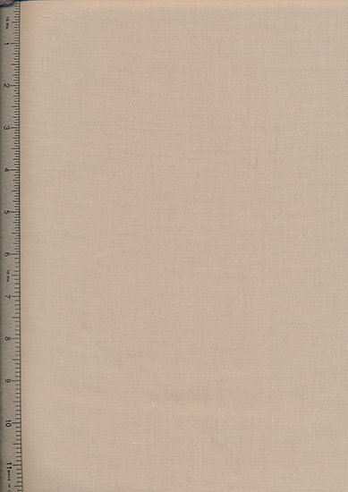 Poly Cotton Plain - Light Brown