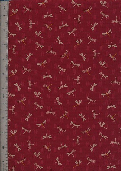 Sevenberry Japanese Print - 88227-Red