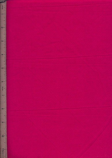 Purse Friendly Print - Plain Dark Pink - 100% Cotton Fabric