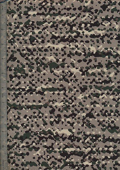 "Cotton Sateen Print 60"" Wide - Brown Cammouflage"