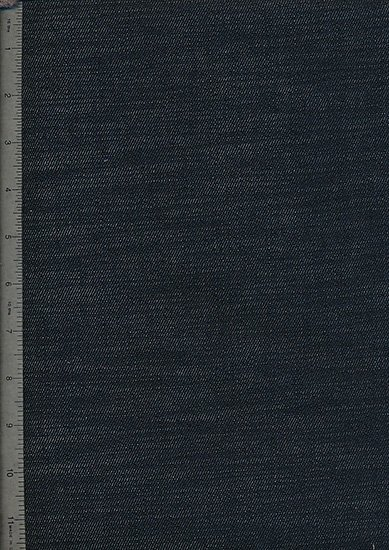 Ex Designer Denim Fabric - Dark Charcoal