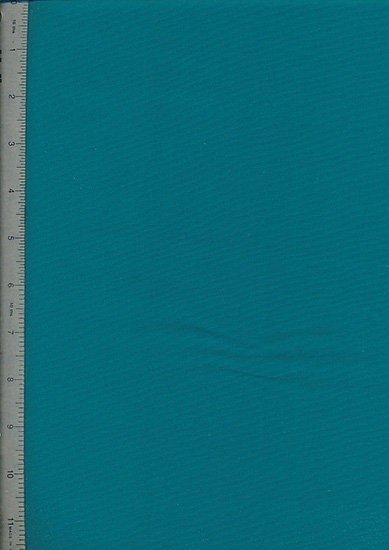 Plain Cotton Fabric - 30 Teal