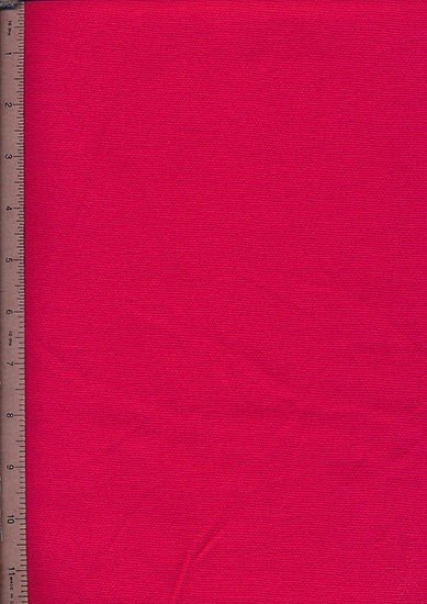 Poly/Cotton Drill Fabric - Red/Pink
