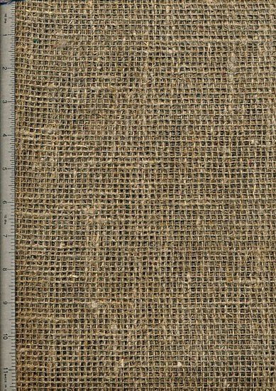 "Pre-washed hessian - 54"" Wide"
