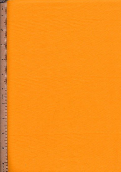 Purse Friendly Print - Plain Bright Orange - 100% Cotton Fabric