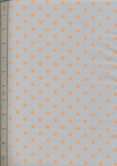 Linen Look Cotton 046/25 - Small Spot Taupe