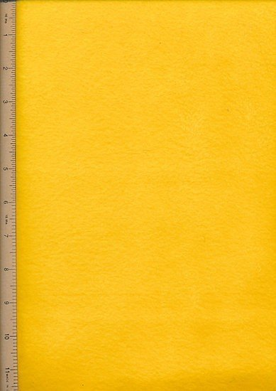 Fabric Freedom Fleece - 3 Bright Gold