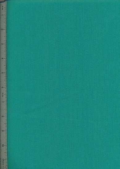 Poly Cotton Plain - Emerald Green