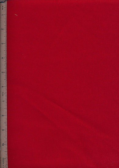 Poly/Cotton Drill Fabric - Red