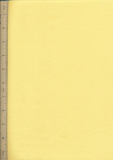 Plain Cotton Fabric - 04 Lemon