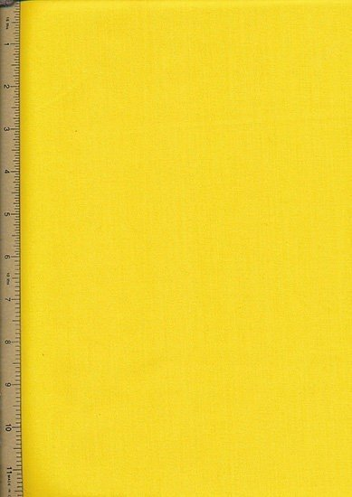 Poly Cotton Plain - Yellow