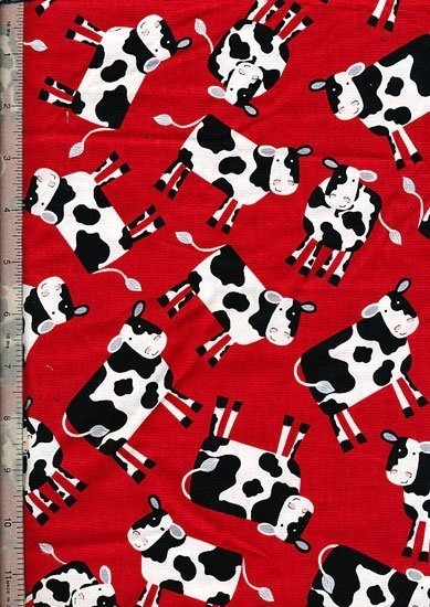 Novelty - Red Cows