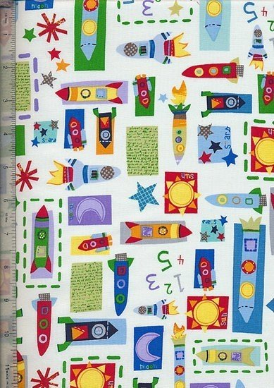 Sew Simple Novelty Fabric - 27