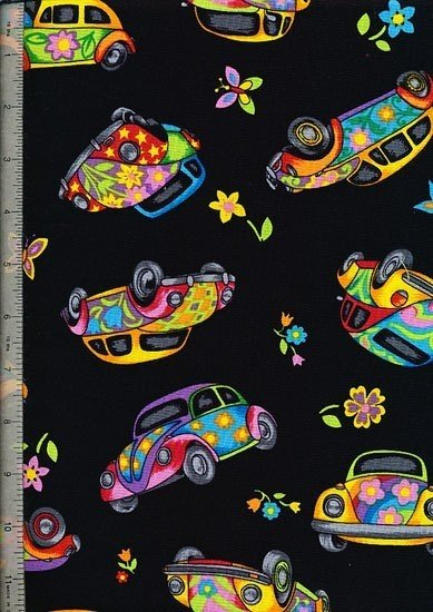 Novelty - Psychedelic Cars