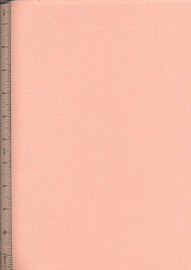 Poly Cotton Plain - Coral Pink