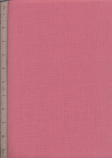Linen Look Cotton - Plain Pink