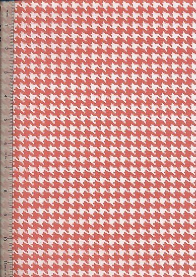 Je Ne Sais Quoi -  Houndstooth Blender Orange