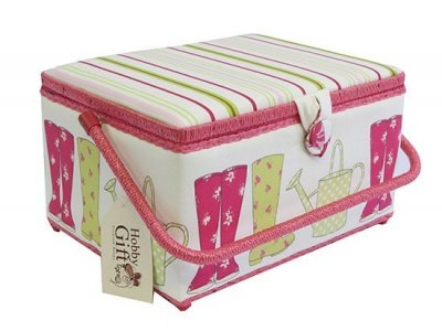 Large Sewing Box - Large Boot Hot Pink GB1124