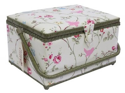 Large Sewing Box - Floral Bird GB1129