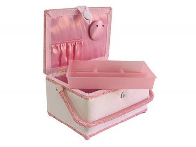 Medium Sewing Box - Pink Fairies GB1097