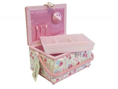 Medium Sewing Box - Pink Rose GB1138