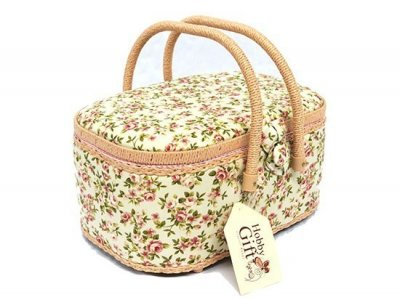 Medium Sewing Box - Petite Rose GB1153