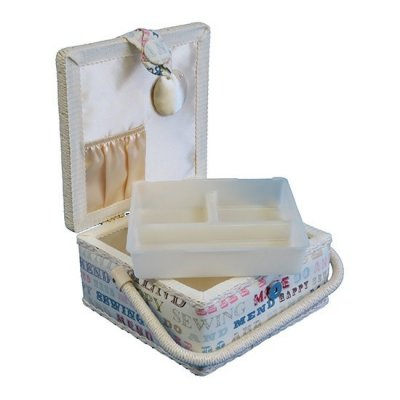 Small Sewing Box - Cream Make Do & Mend GB1160