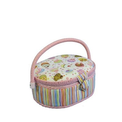 Small Sewing Box - Pink Cupcakes GB1196
