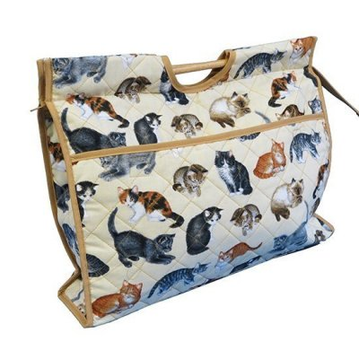 Knitting Bag - Large Cats CB350