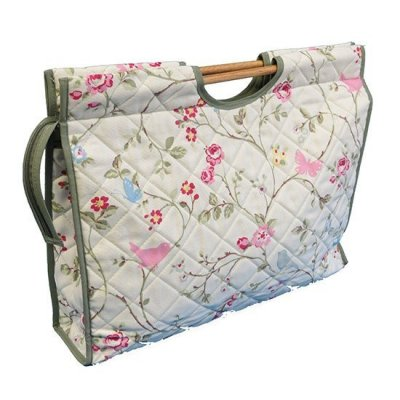 Knitting Bag - Floral & Birds CB333