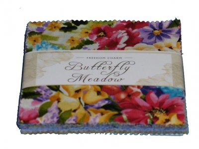 Fabric Freedom Charm Pack - Butterfly Meadow