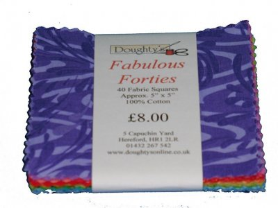 Doughty's Fabulous Forties Charm Pack - 1