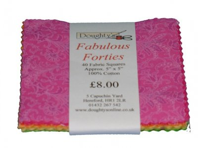 Doughty's Fabulous Forties Charm Pack - 2