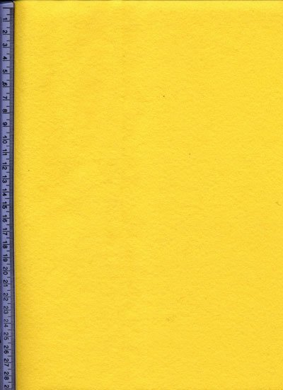 Yellow Acrylic Felt