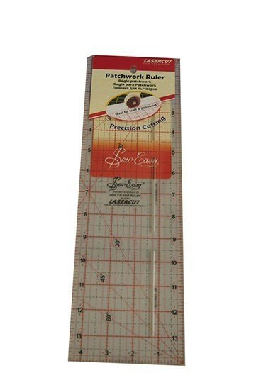 "Sew Easy 14x4.5"" Patchwork Ruler"