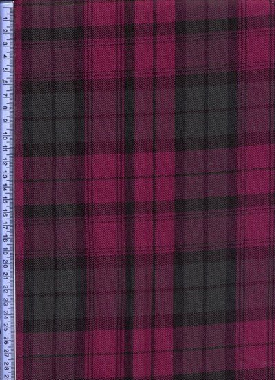 Green & Pink Muted Tartan - Tartans