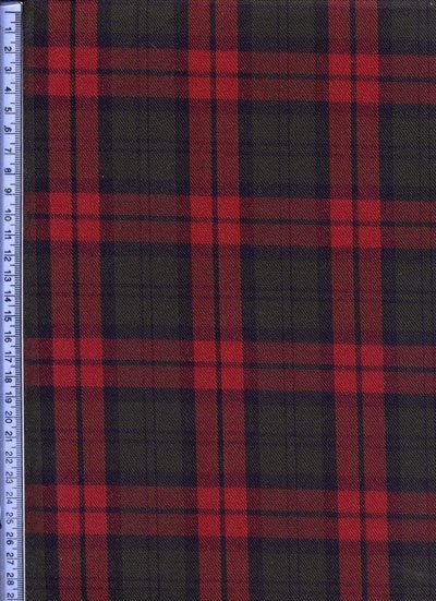 Green & Red Muted Tartan - Tartans