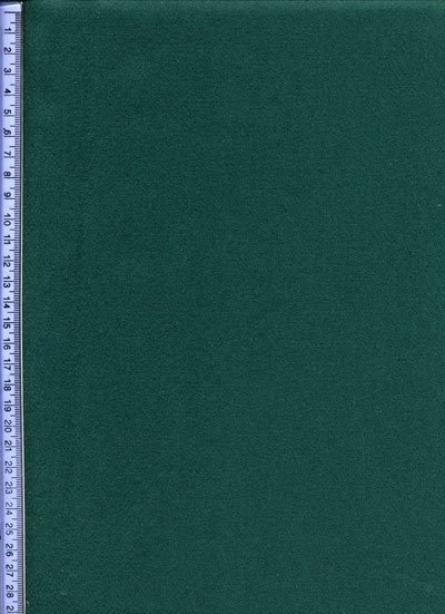 Dark Green Wool Baize