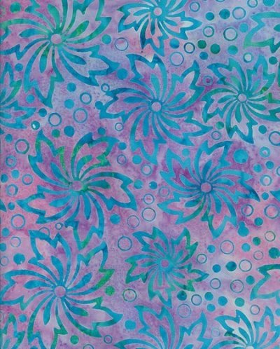 Fabric Freedom Bali Batik - Purple 10