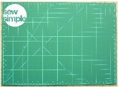 Sew Simple Cutting Mat 17 x 23 inches