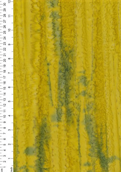 Fabric Freedom Fold Dye Bali Batik - BK 150/M Yellow