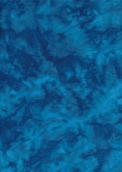 Sew Simple - Batik Basic Turquoise 108