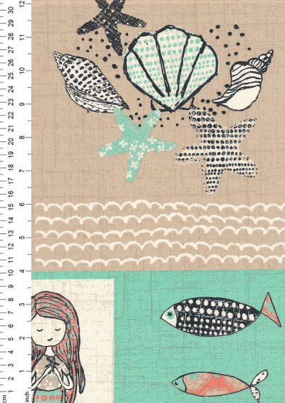 Craft Cotton Co - Give Me The Sea Patch