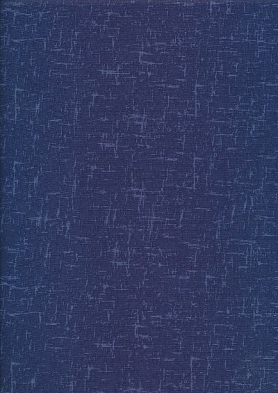 Craft Cotton Textured Blender - Navy