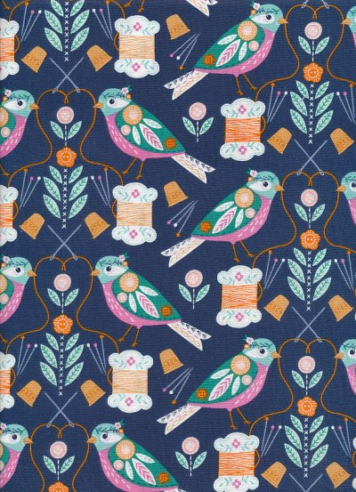 Dashwood Studio - Stitch Stitch by Bethan Janine STIC 1449 Navy