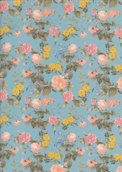 Lady McElroy Cotton Lawn -Vintage Rose 447