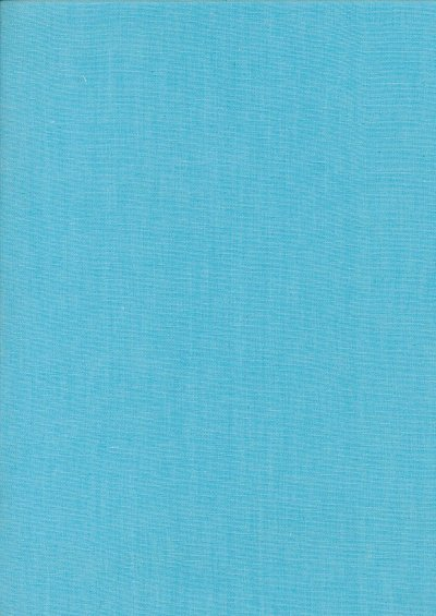 Yarn Dyed Cotton Chambray - Dusty Turquoise