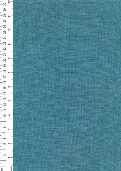 Enzyme Washed Linen  - Teal 2038N