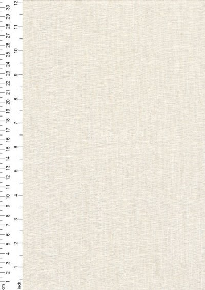 Enzyme Washed Linen  -Ivory