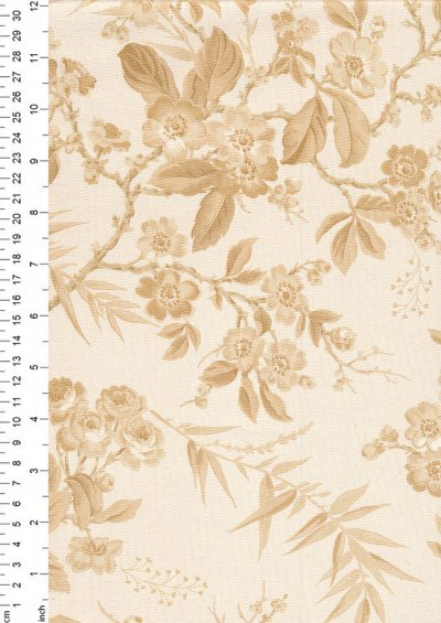 Little Sweetheart By Edyta Sitar For Andover Fabrics - Clotted Cream Bouquet 8822C#L